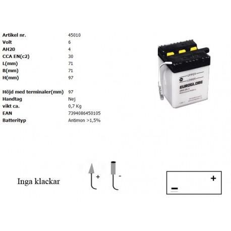 6N4-2A-3 MC batteri