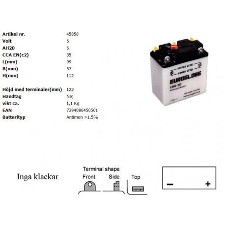 6N6-3B MC batteri