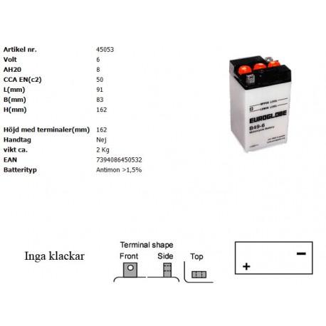 B49-6 MC batteri