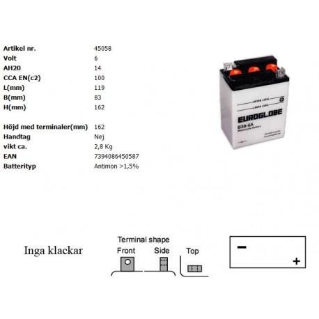 B38-6A MC batteri