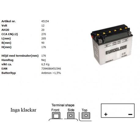 Y50-N18A-A MC batteri