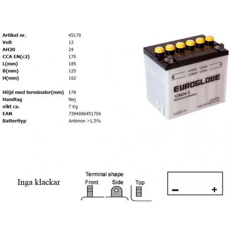 12N24-3 MC batteri
