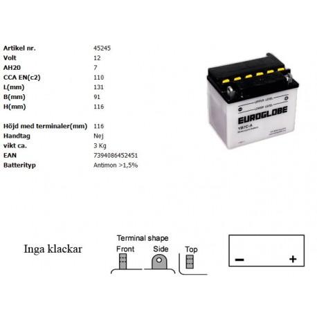 YB7C-A MC batteri