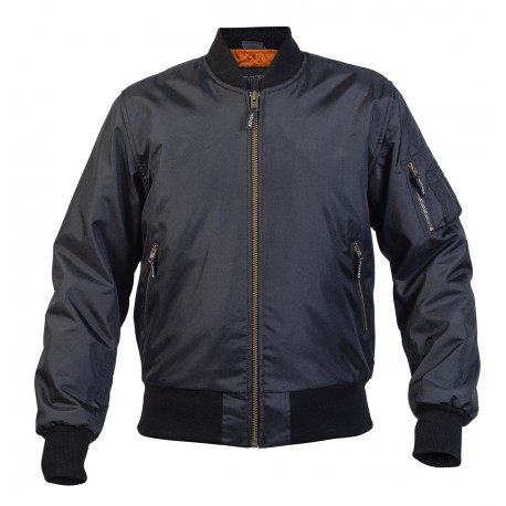 Bomber jacket svart