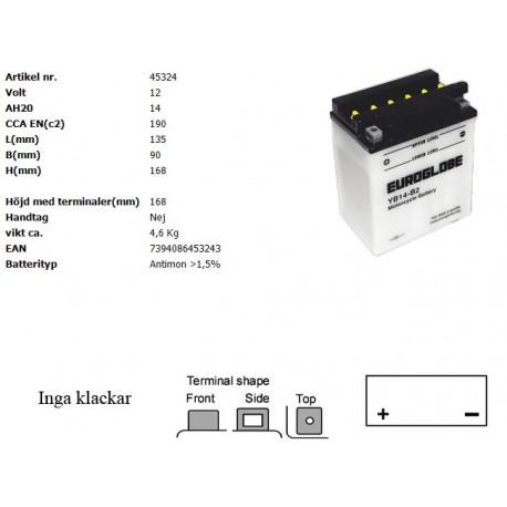 YB14-B2 MC batteri