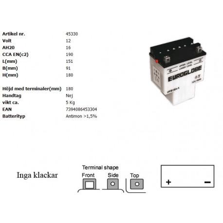 HYB16A-A MC batteri