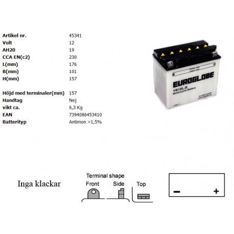 YB16L-B MC batteri