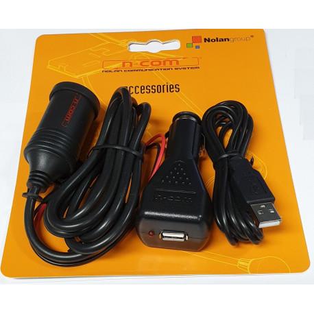 Nolan N-Com Batteriladdare - 12V
