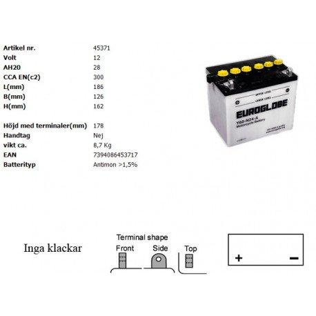 Y60-N24-A MC batteri