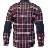 Kevlarskjorta Woodcutter 2 mörkröd Merlin Hendrix