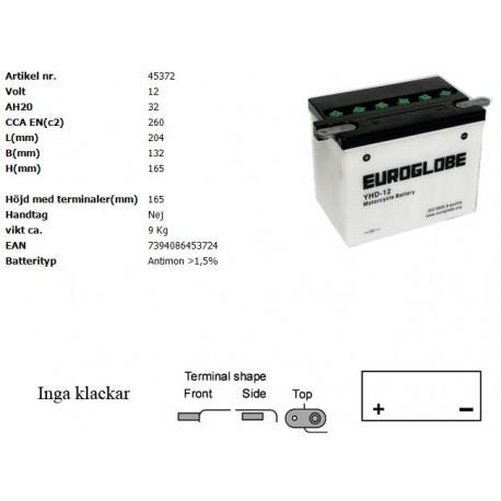 YHD4-12 MC batteri
