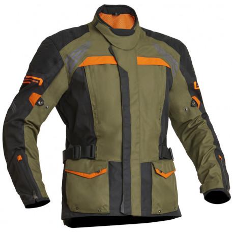 Lindstrands Textiljacka Transtrands herr grön/orange
