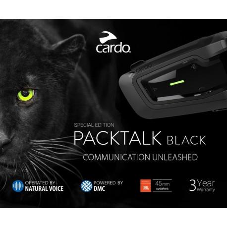 Cardo Packtalk Black JBL Single - för 1 Person