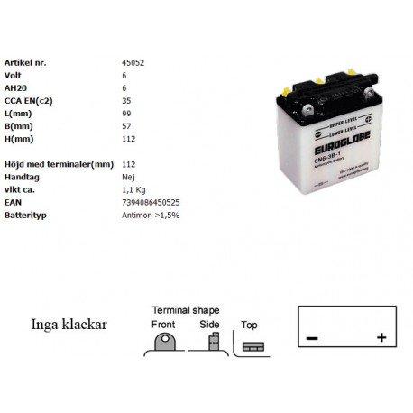 6N6-3B-1 MC batteri