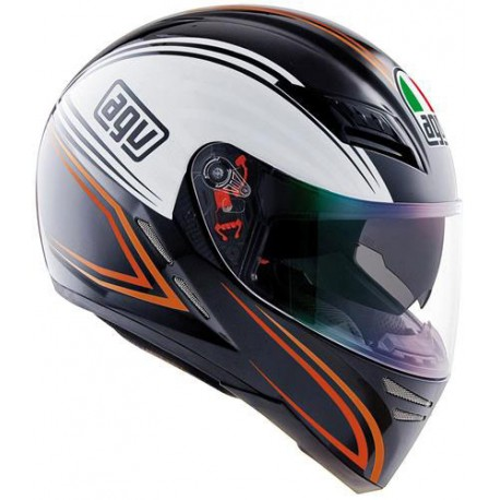 AGV S-4 SV Zebra orange