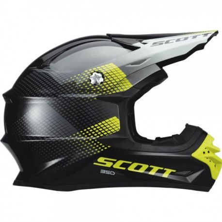 Scott 350 Pro Dirt black/green