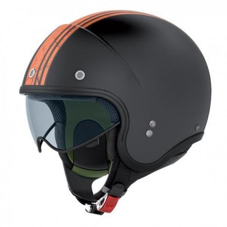Nolan N21 Banner svart/orange
