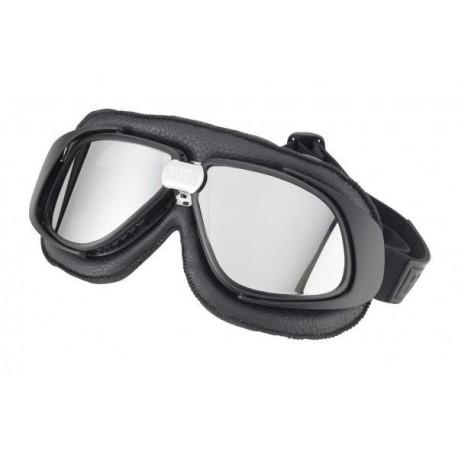 Bandit MC-glasögon svarta med spegel glas