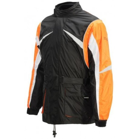Lookwell Hiker regnjacka orange/svart