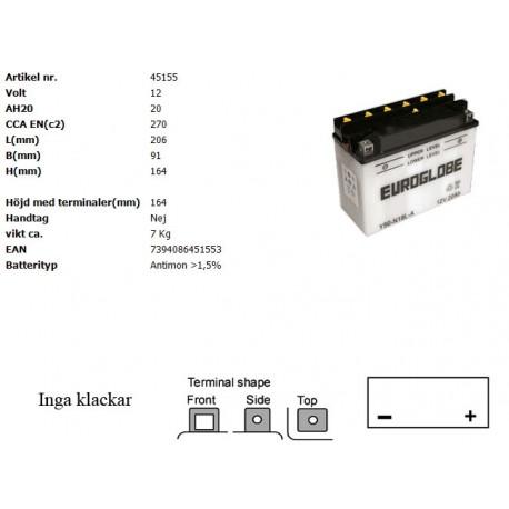 Y50-N18L-A MC batteri