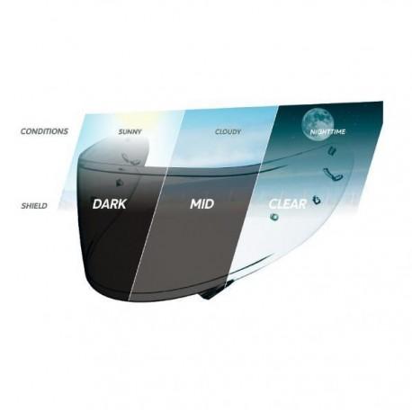 Visir Shoei CWR-1 fotokromatiskt (P/L)