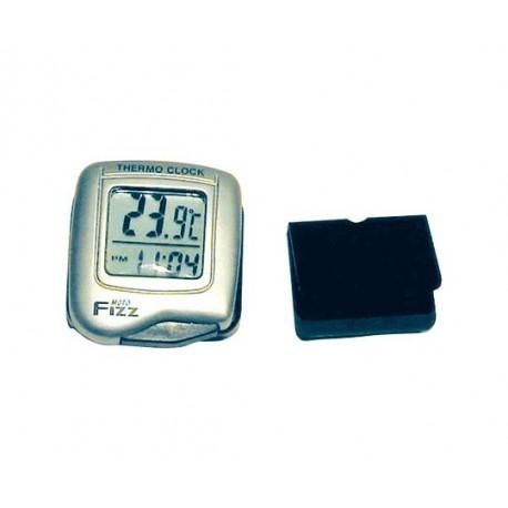 Digital MC-klocka och termometer