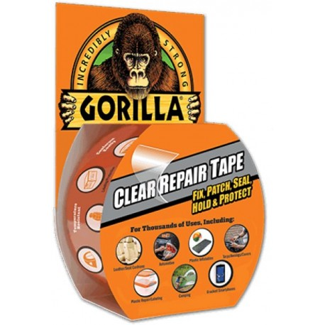 Gorilla Clear Repair Tape, 8,2m