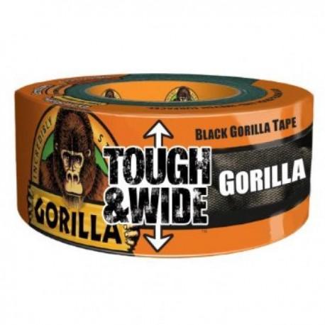 Gorilla Tape Svart, Extra bred 72mm, 27m