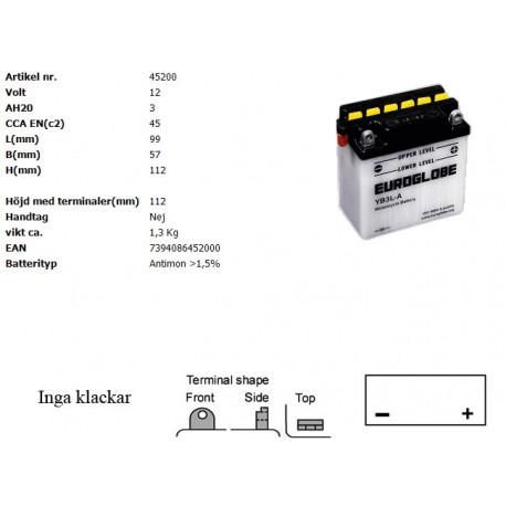 YB3L-A MC batteri