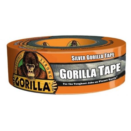 Gorilla Tape Silver, 32m