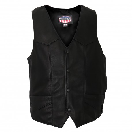 Outlaw leasther vest, USA