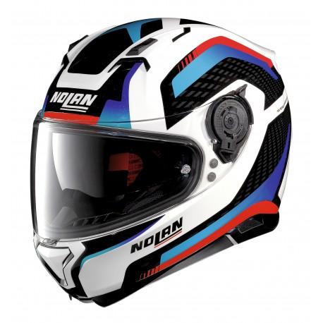 Nolan N87 Arkad- Vit/blå