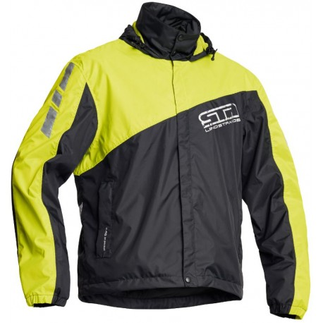 Lindstrands WP Jacket svart/gul