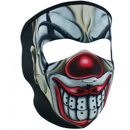 Facemask Clown neoprene