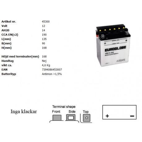 YB14-A2 MC batteri