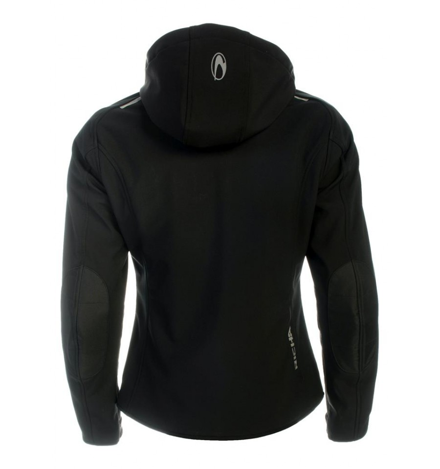 0cf2b1ae1fe Richa Boka Lady Jacket WP svart - Mc-Butik med Stora storlekar - Mc...
