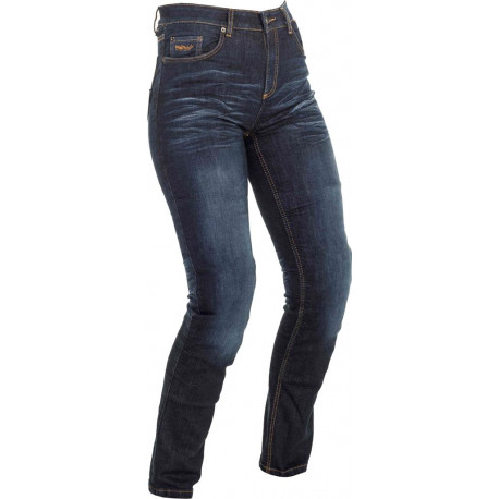 Richa Nora jeans dam - marinblå slim fitting