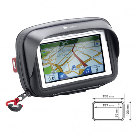 Givi S954B Smartphone/GPS hållare för styrmontage