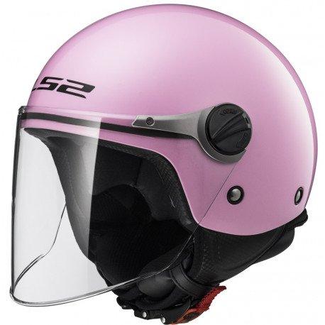 LS2 barnhjälm jet rosa