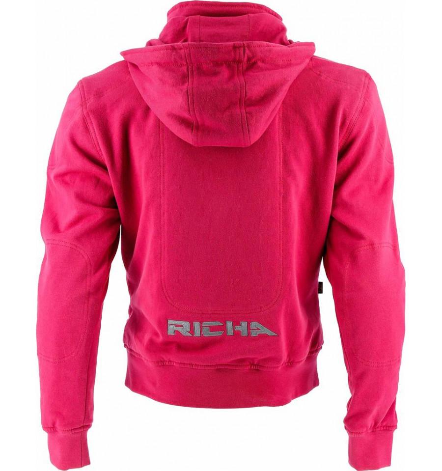 f0ddc089976 Richa Titan hoodie dam - rosa - Mc-Butik med Stora storlekar - Mc-B...