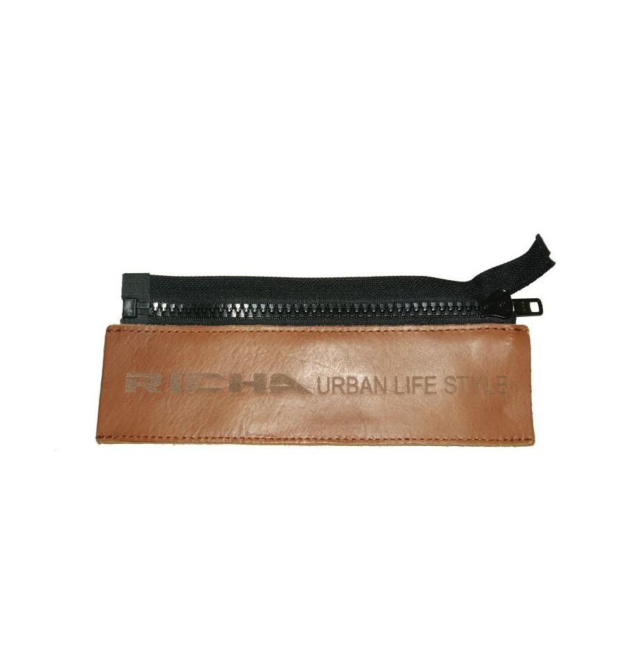 Richa Belt Jacket Connector, cognac brun Mc Butik med