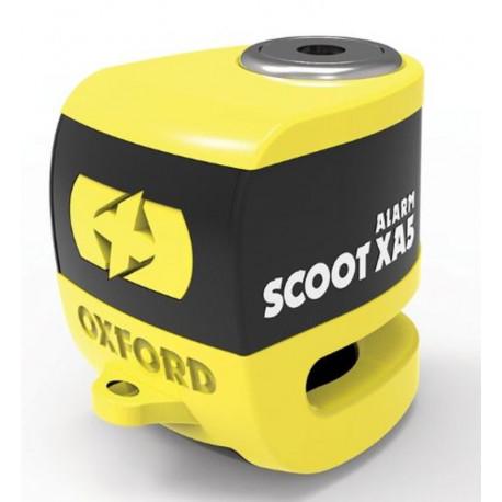 Oxford Scooter XA5 Alarm Skivbromslås gul