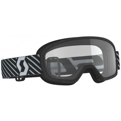 SCOTT SCOTT Buzz MX Goggle, junior svart med klar lins