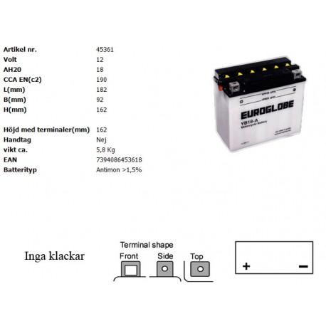 YB18-A MC batteri