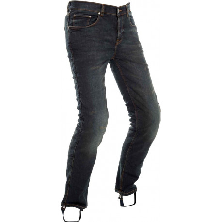 Richa Project jeans herr - dirty wash standard